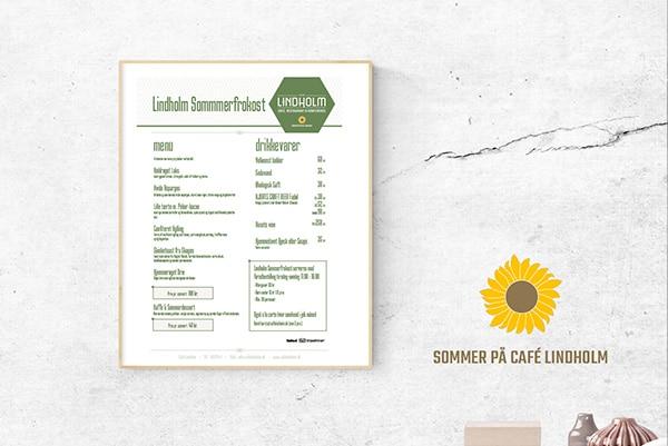 Lidholm Café, Restaurant og Konference fik ny sommerkampagne og flere konferencer.