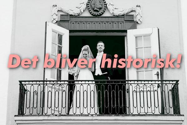 Dronninglund Slot fik ny storytelling og en komplet inbound marketing koncept til salg af bryllupper.
